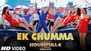 Presenting the first track from housefull 4 that will teach you new mechanisms of love - 'ek chumma'! song has been shot entirely in united kingd...