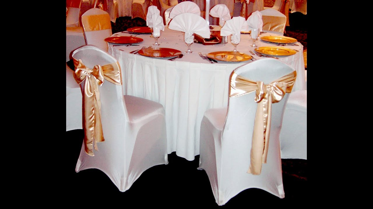 Function Accessories Chair Covers Custom Throne For Weddings In White Theme
