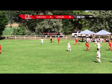 VTV Channel 6 High School Soccer: Uintah @ Union Girls Soccer 2014