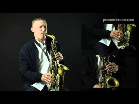Online Saxophone Lessons - Building the Blues Series 2 with James Morton