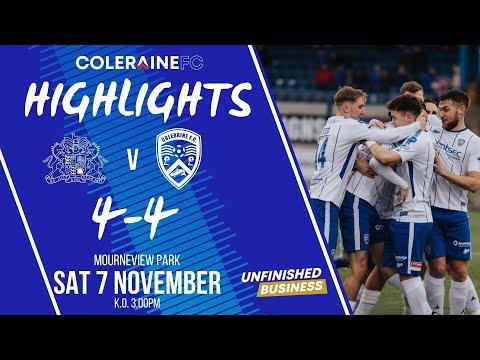 Glenavon Coleraine Goals And Highlights