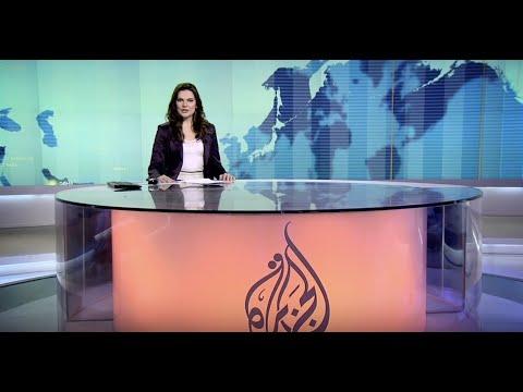 Social Media Producer Julia Rhodes presents at Al Jazeera English