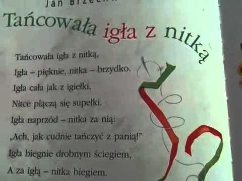 Tancowala Igła Z Nitka Jan Brzechwa