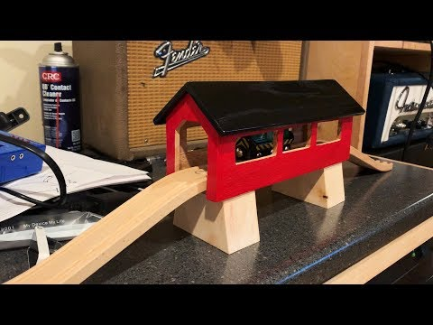 DIY Brio Covered Bridge