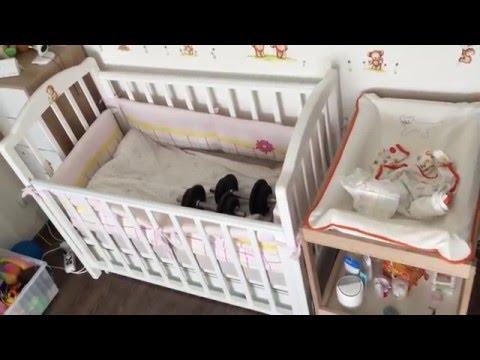 nanina - гарантия раскачивания. качалка для новорожденного. электронные качели.