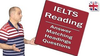 IELTS Reading Exam - Answer Matching Headings Questions