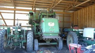 JD 95 Start Up and Out of the Barn