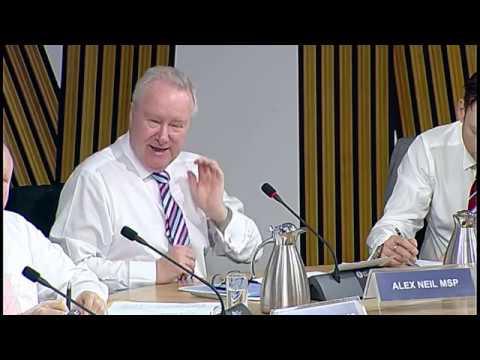 Public Audit and Post-Legislative Scrutiny Committee - Scottish Parliament: 8th December 2016