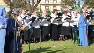 Cornish Songs for Bardic Ceremony held in Australia