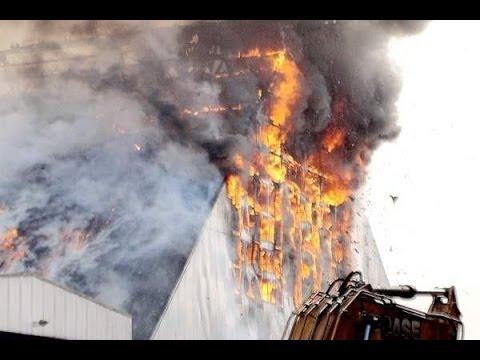 GRANDE INCÊNDIO ATINGE O PORTO DE SANTOS - LARGE FIRE REACHES THE PORT OF SANTOS