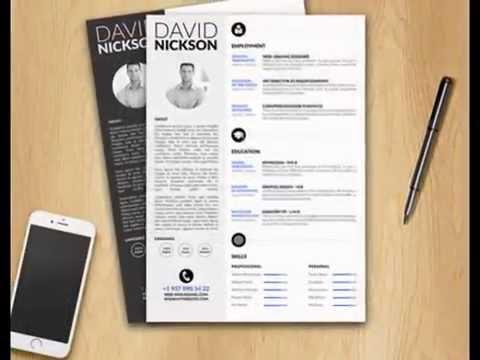 resume template professional resume cv template word template ms word template