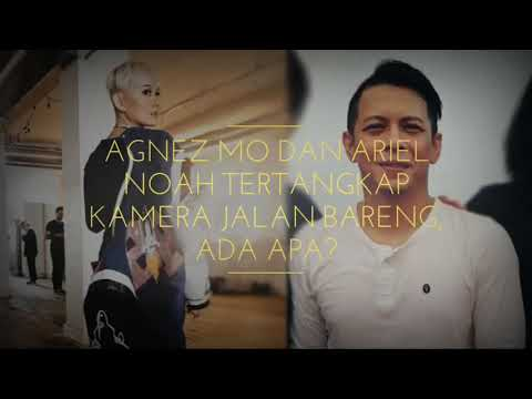 Agnes Mo Kepaergok Jalan Dengan Aril Noah