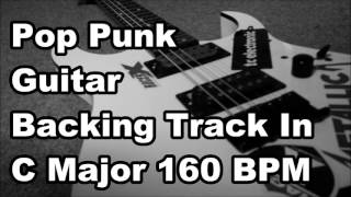 Pop Punk backing Track In C Major 160 BPM