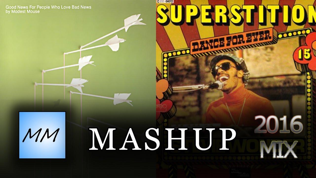 Stevie Wonder & Modest Mouse MASHUP - Float On/ Superstition