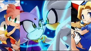 Despacito remix - Sonic, Shadow y Silver  - by Angy.
