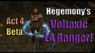 Path of Exile Act 4 Beta: Hegemony's Voltaxic Lightning Arrow Ranger!