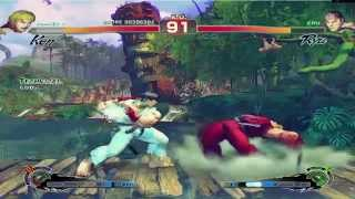 Gameplay: Ultra Street Fighter IV Modo Historia Walktrought PC