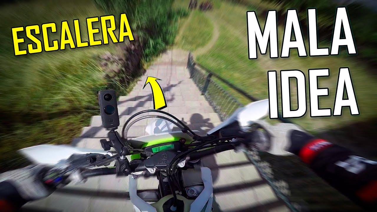 NO SABÍA QUE PODÍA HACER ESTO - Poniendo a prueba mis habilidades en moto