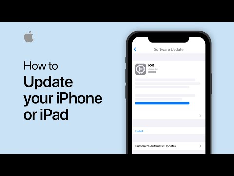 How to update your iPhone, iPad, or iPod touch — Apple Support