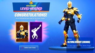 The New MAX ULTIMA KNIGHT ORIGIN SKIN in Fortnite...