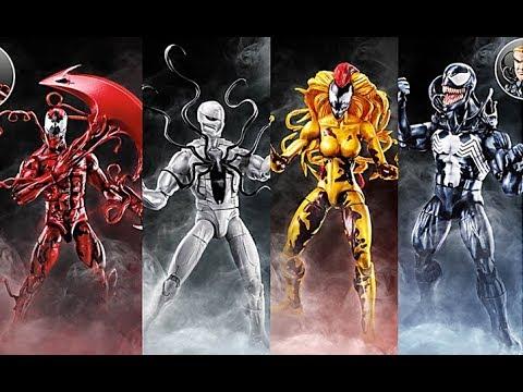 Toy Fair 2018 Reveals/Thoughts: Marvel Legends Venom Figures (Carnage,  Poison, Scream, Spider Ham)