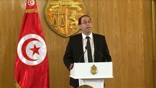 رئيس الحكومة المكلف في تونس يعلن تشكيلة حكومة الوحدة الوطنية