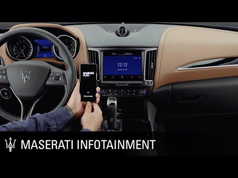 Maserati. Infotainment series. Android Auto™