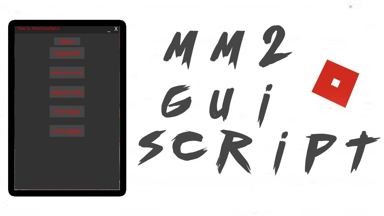 New Roblox Hack/Script MM2 Gui 💰