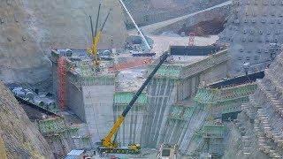 Yusufeli Barajı İnşaatı Süratle Devam Ediyor