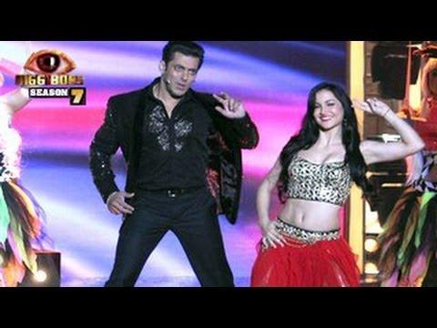 Salman Khan and Elli's Bigg Boss 7 Grand FINALE Act 28th December 2013  EPISODE