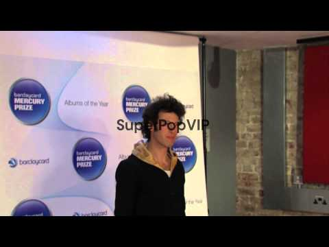 Sam Lee at Barclaycard Mercury Music Prize 2012 at The Ro...
