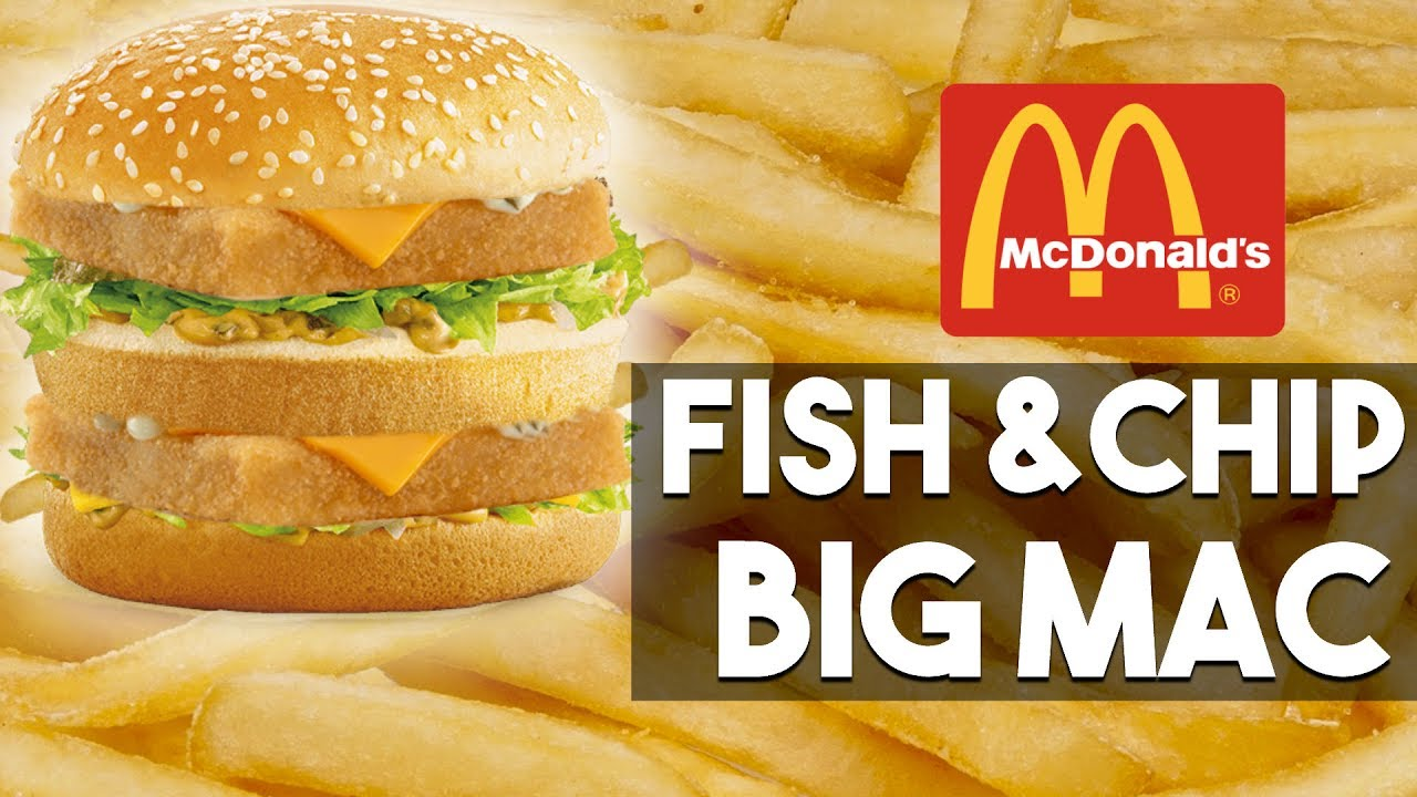 Mcdonald 39 s fish and chip big mac fast food hack youtube - Fast good cuisine big mac ...