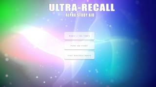 'ULTRA-RECALL' Alpha Study Aid for Focus and Concentration  ☯ Alpha Binaural Beats & Iso Tones