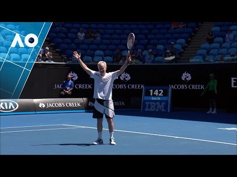 Legends: Chang/Martin v McEnroe/McEnroe match highlights (3R) | Australian Open 2017