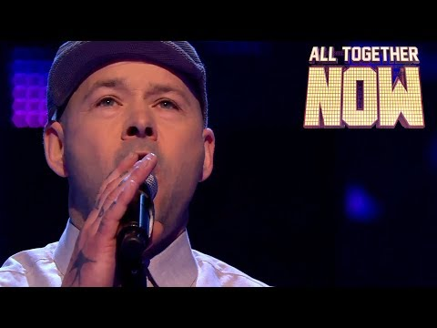 Lee The Singing Welder wows The 100 with power ballad | All Together Now