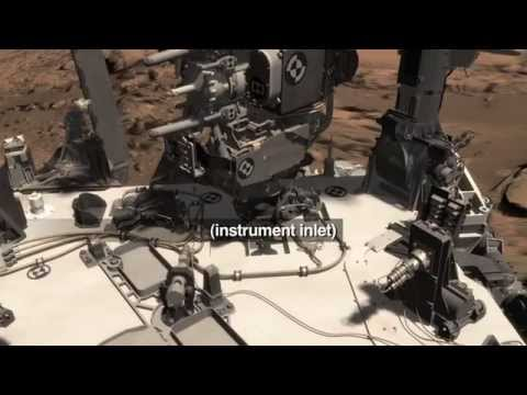 Curiosity Rover Drills First Sample of Mount Sharp | Mars Video