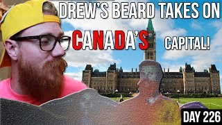 BIG BUSHY GINGER BEARD takes on CANADA'S CAPITAL CITY | HISTORIC BEARDS | Grooming & Styling ROUTINE