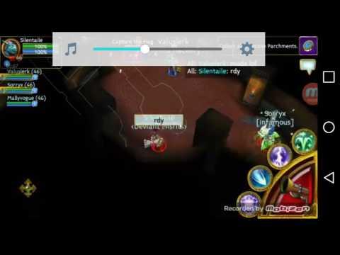 Arcane Legends Warrior Vs Mage 46 LvL
