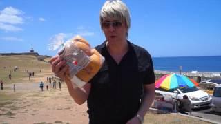 Pan De Mallorca for a fan! I'm in beautiful Puerto Rico!