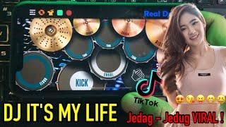 DJ ITS MY LIFE LA LA LA x INDIA MASHUP 2 x DJ MAIMUNA PODING - TIK TOK VIRAL TERBARU 2021