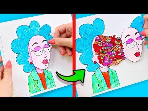 12 Einfache Und Coole Tricks Zum Zeichnen