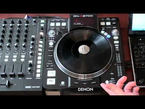 HYBRID Denon DN-S3700 MIDI Map in Serato Scratch Live