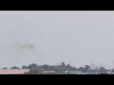Juba gunship bombings