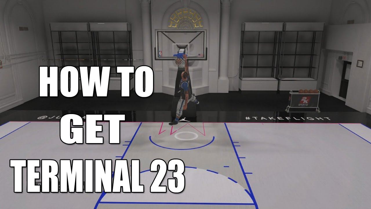 78962952729 NBA 2K16 - HOW TO GET TERMINAL 23 MY COURT - YouTube