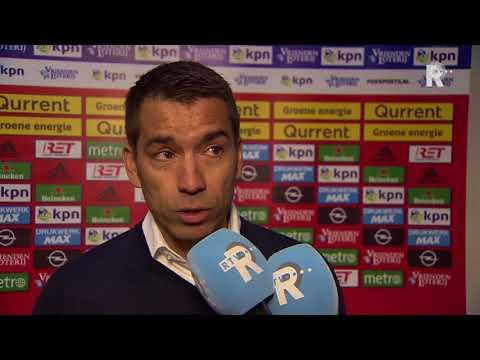 'Gio' na Feyenoord-Sparta: 'Begrip voor dat het er vandaag niet helemaal uitkomt'