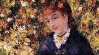 """Pierre Auguste Renoir - Jardines y Flores - Tchaikovsky """"Vals de las Flores"""""""