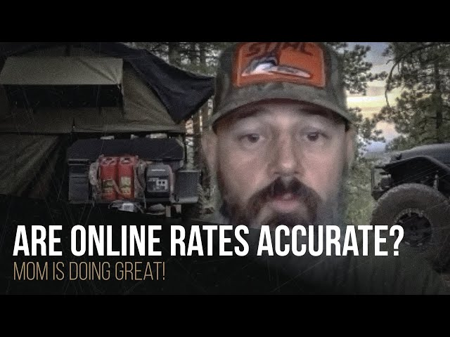 Are online rates accurate?