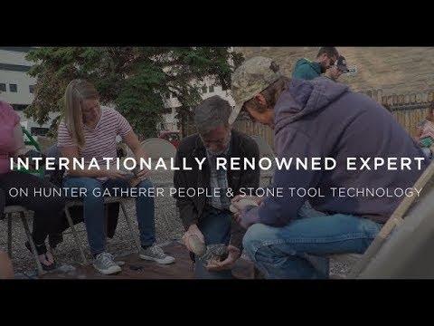 Robert Kelly || UW's Expert on Hunter Gatherer People & Stone Tool Technology
