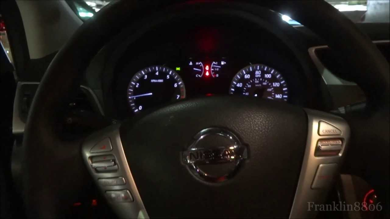 2013 Nissan Sentra SV Start Up &n Exhaust - YouTube