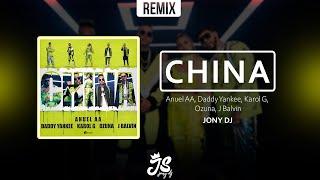 CHINA (Remix) ⚡ ANUEL AA ⚡ DADDY YANKEE ⚡ OZUNA ⚡ J BALVIN ⚡ JONY DJ